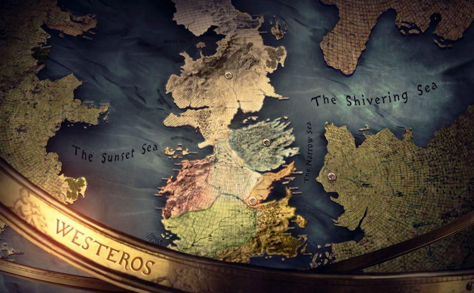 Westeros Map Hd Wallpaper Mapa Juego De Tronos Juego De