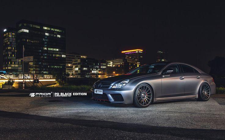 Nice Mercedes: PRIOR-DESIGN PD Black Edition Aerodynamic-Kit for Mercedes CLS  | PRIOR-DE...  My Love ♥️ Check more at http://24car.top/2017/2017/04/10/mercedes-prior-design-pd-black-edition-aerodynamic-kit-for-mercedes-cls-w219-prior-de-my-love-%e2%99%a5%ef%b8%8f/
