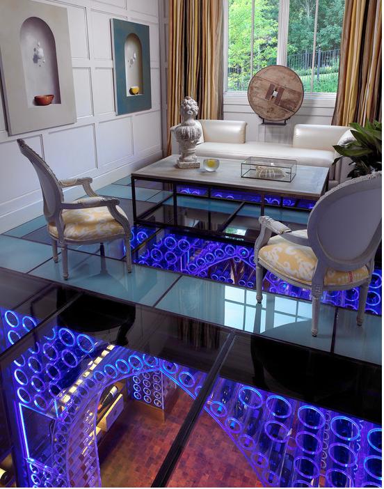 Living room/ Wine cellar
