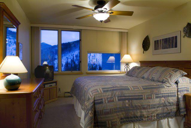 Interior Bedroom At Simba Run Vail All Units Are