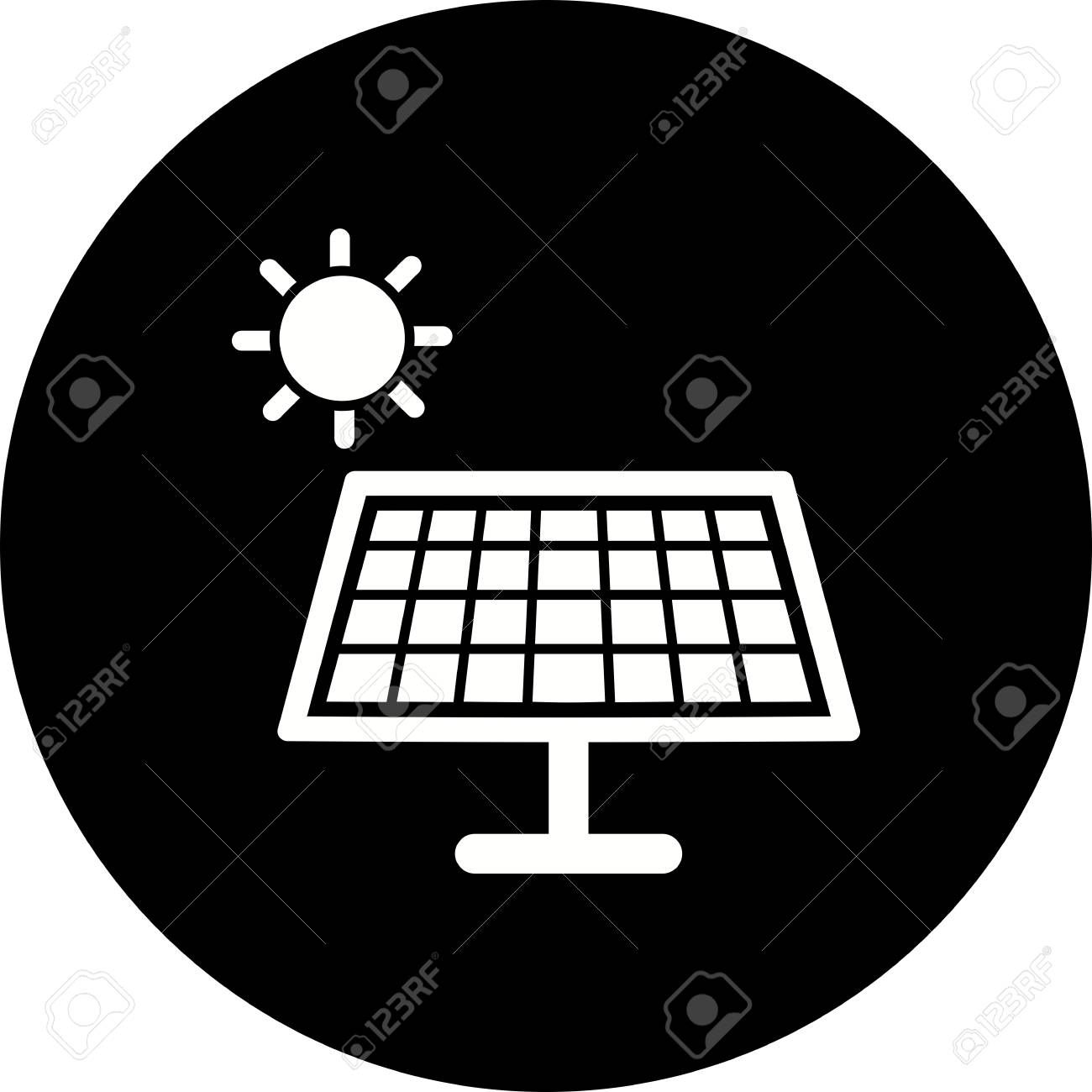 Vector Solar Energy Icon Ad Solar Vector Icon Energy Solar Energy Solar Energy