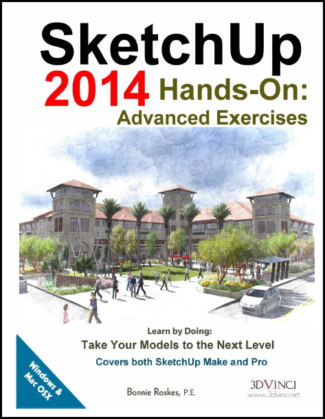 SketchUp 2014 Hands-On: Advanced Exercises (PDF