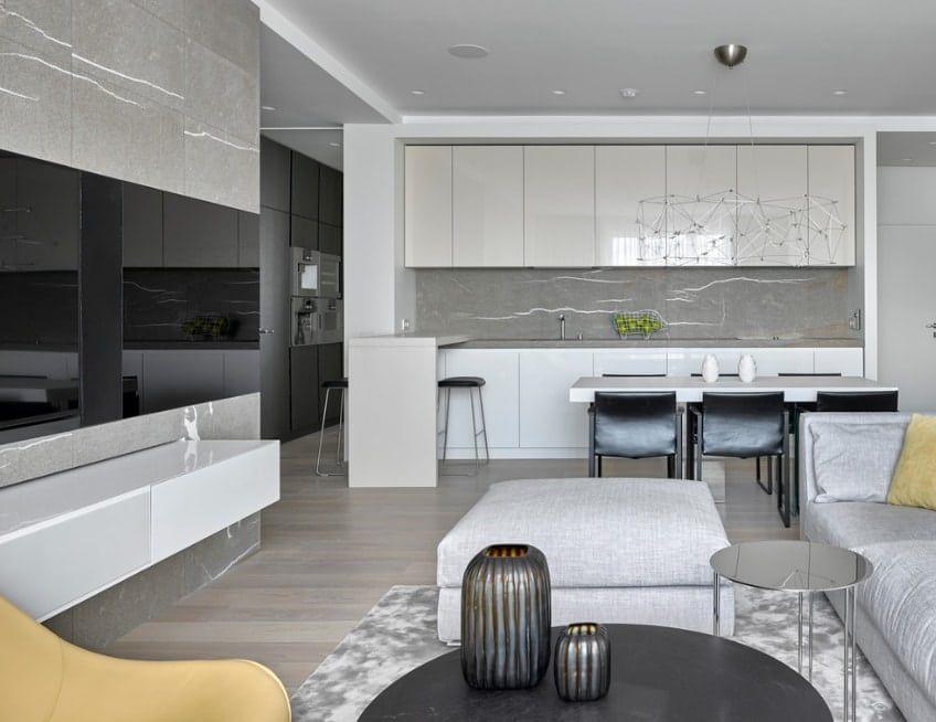 Moderne Ideen der Küche-Wohnzimmer von 2017 Pinterest