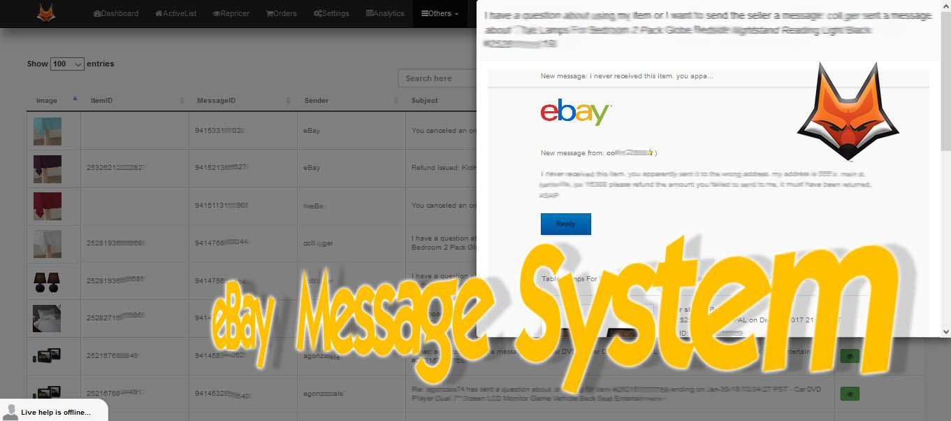 Ebay Dropshipping Tool Ebay, Online business, Messages
