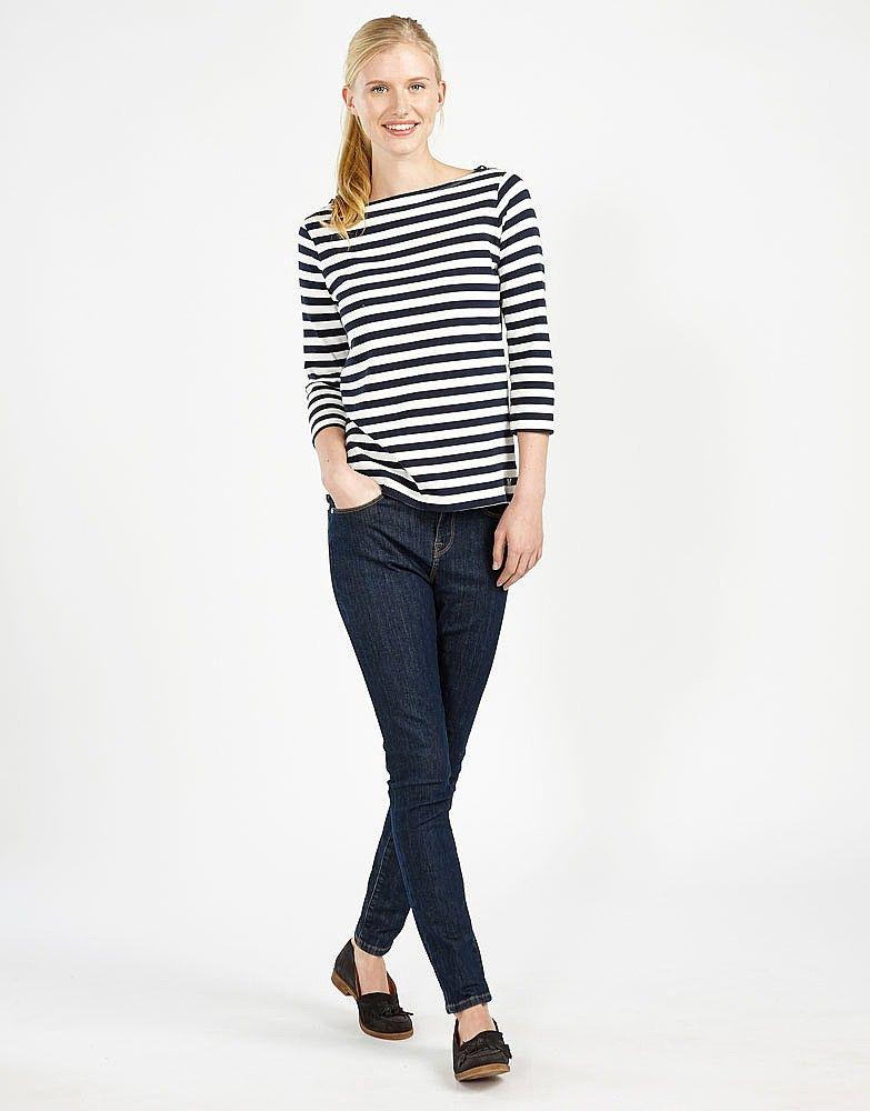 Women's True Skinny Jean in Dark Indigo from Crew Clothing
