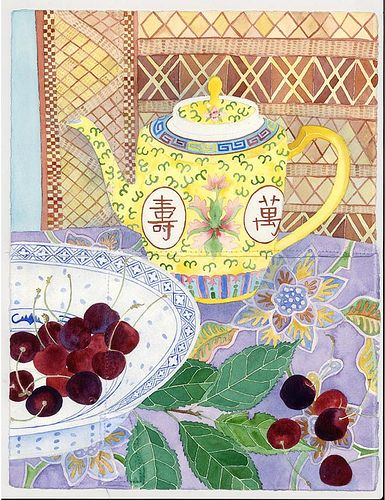 teapot and cherries | by Mango Frooty