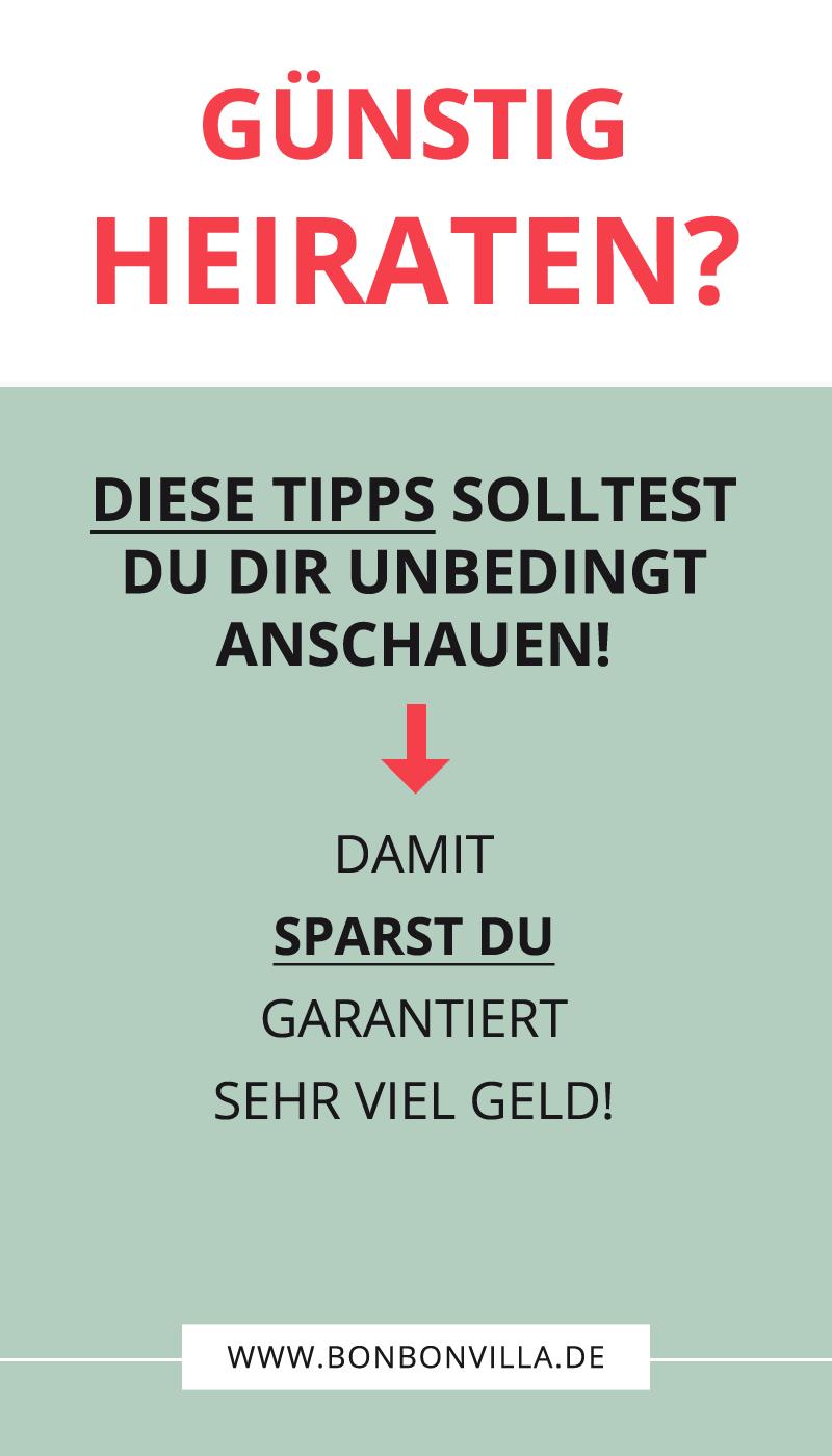 Photo of Heiraten und sparen – so geht´s