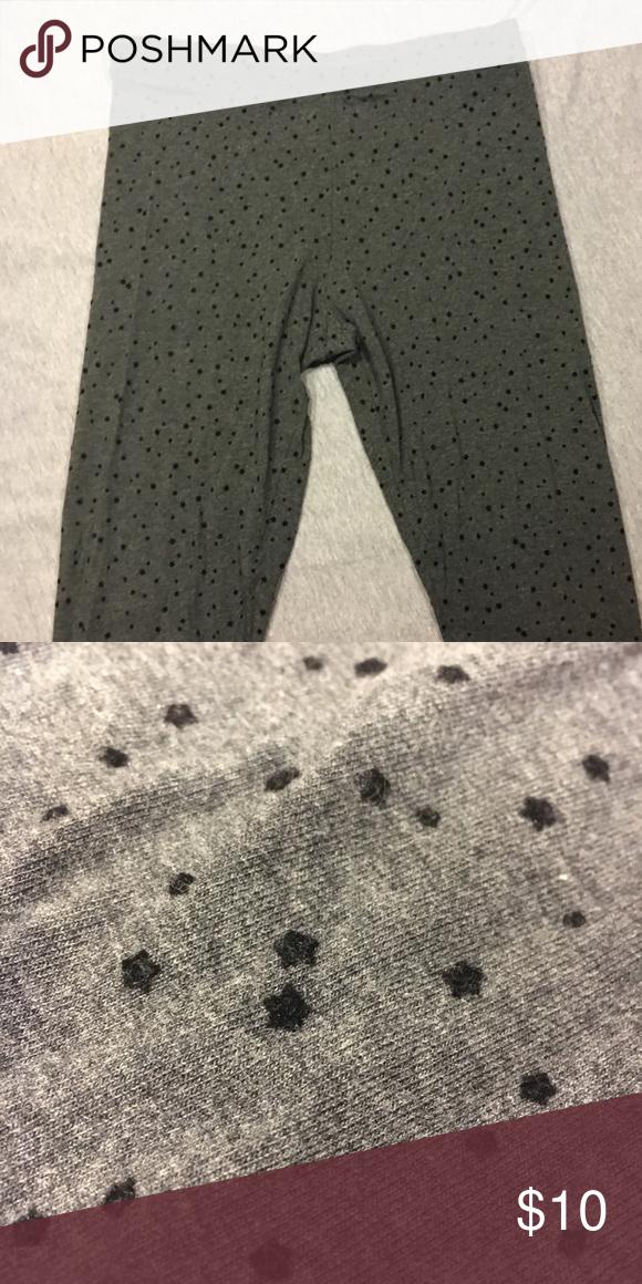 fc2c91d08a30f6 Lauren Conrad Star Leggings NEVER WORN lauren conrad grey leggings with  little black velvet stars! make an offer LC Lauren Conrad Pants Leggings