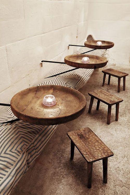 Risultati Immagini Per Restaurant With Convivial Round Table