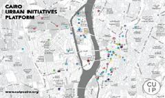 خريطة القاهرة تظهر فيها الأماكن فى شكل دوائر ملونة تفاعلية Cairo Event Calendar Urban