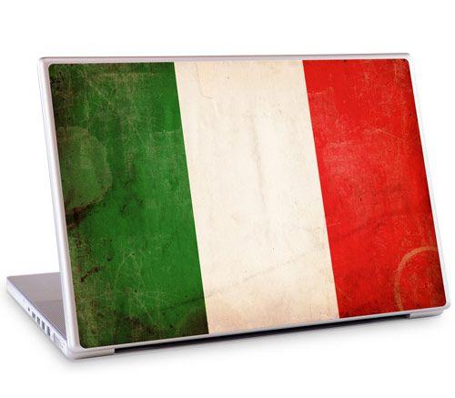 Il Tricolore Italian flag laptop skin by GelaSkins