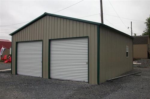 30x26 Boxed Eave Triple Wide Steel Carport Alan S Factory Outlet Steel Carports Garage Door Design Garage Doors