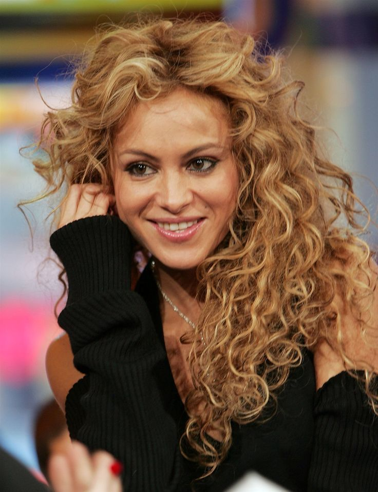 Image result for paulina rubio curly hairstyles