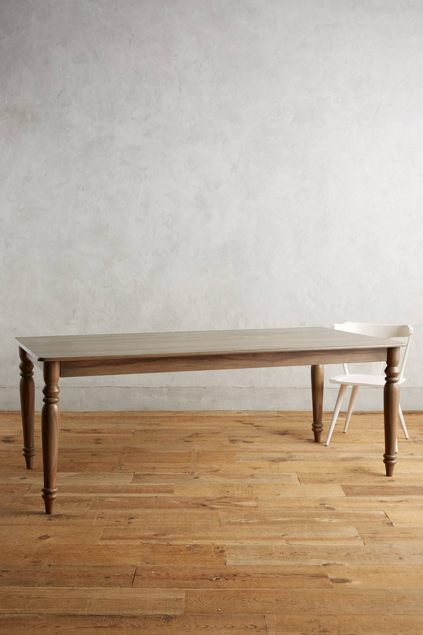 Polished sheesham dining table shops the oujays and anthropologie