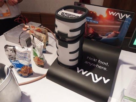 Wayv Adventurer First Look | Hand Held Microwave Takes home Convenience into the Wild - YouTube