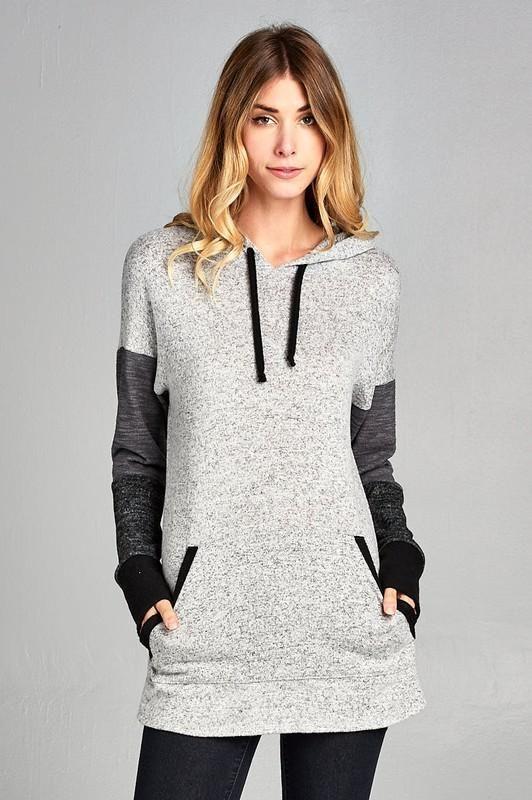 Melanie Colorblock Sweater Hoodie