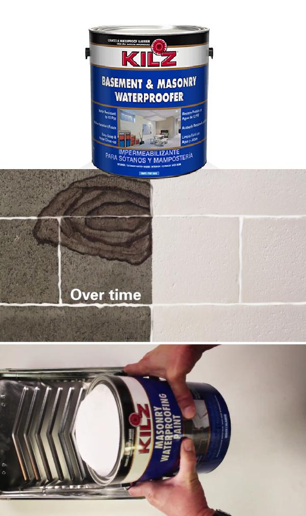 Painting Basement Walls, Kilz For Basement Walls