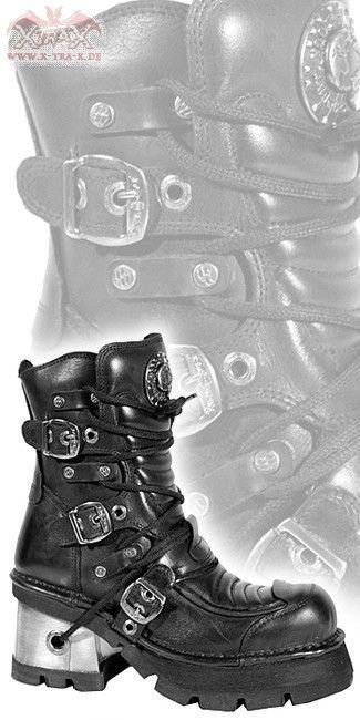 ($260) New Rock Boots - Boots 'Destruction' - Bargain Boots & Rangers: XtraX Underground Fashion: Gothic