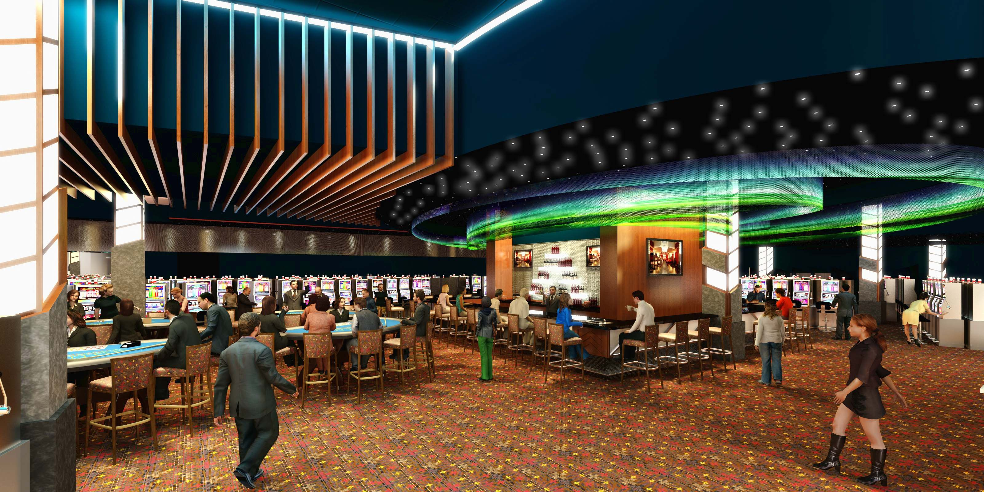 The New Sky Dancer Casino U0026 Hotel Designed By DSGW Architectu0027s First  American Design Studio Headed By Mike Laverdure, Incorporated Elements Of  The Northern ... Idea