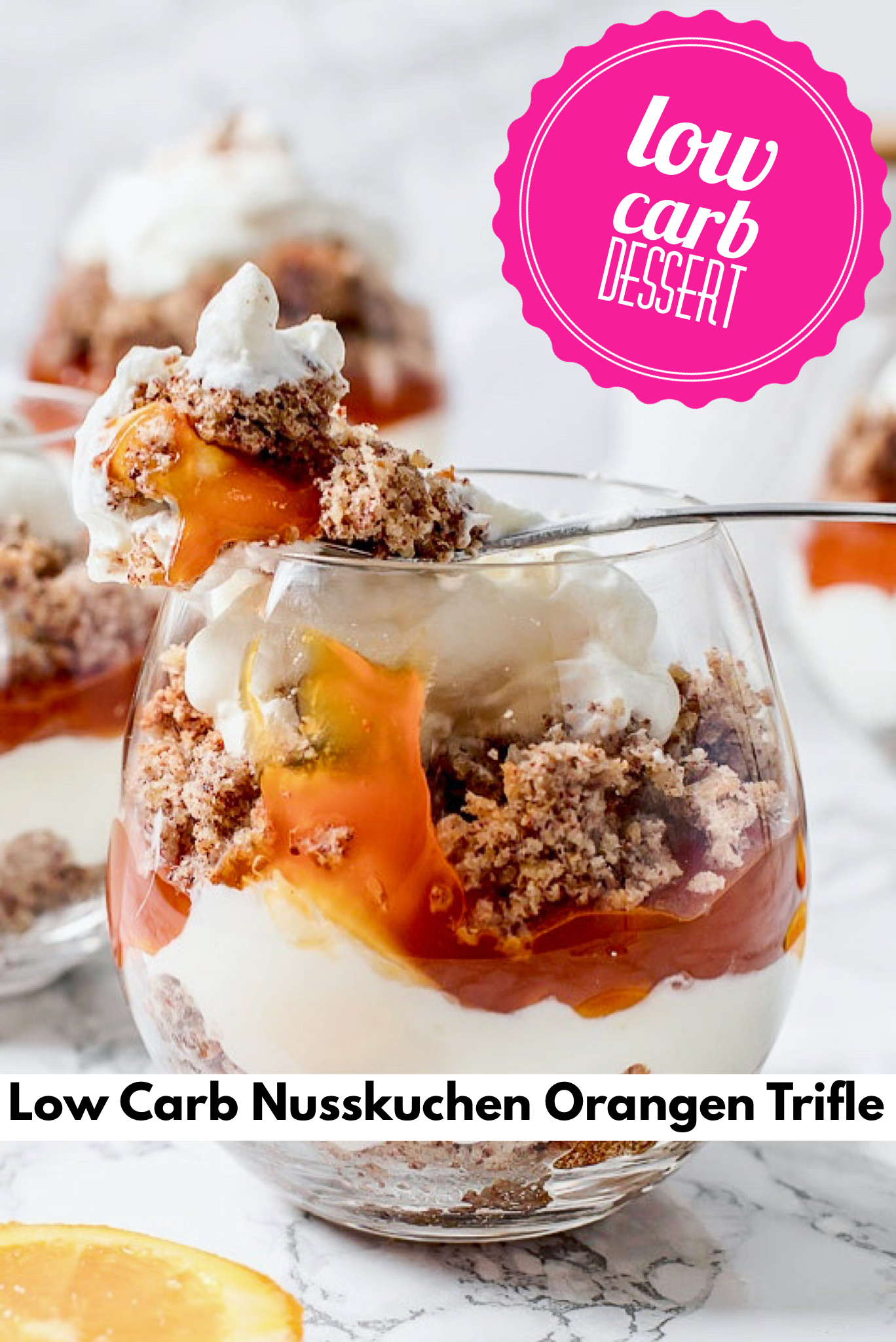 Photo of Nutcake Orange Trifle Low Carb