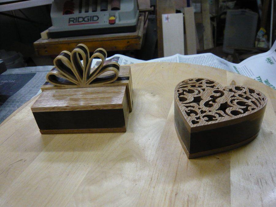 2 small boxes, a team effort - by dansnow @ LumberJocks.com ~ woodworking community
