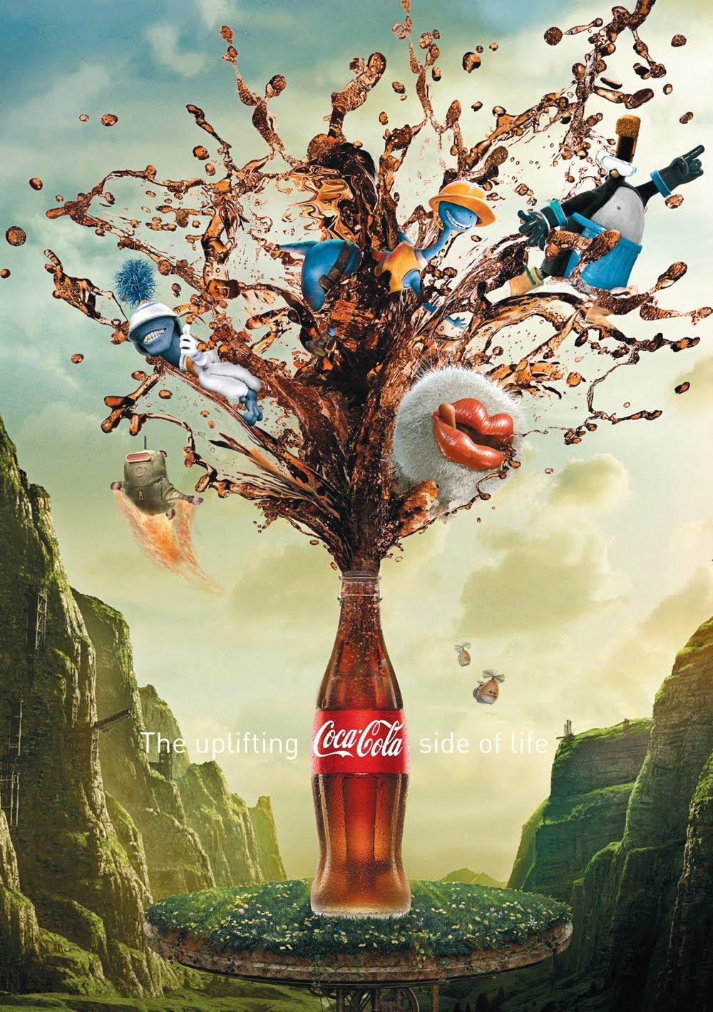 Coke Key Visuals