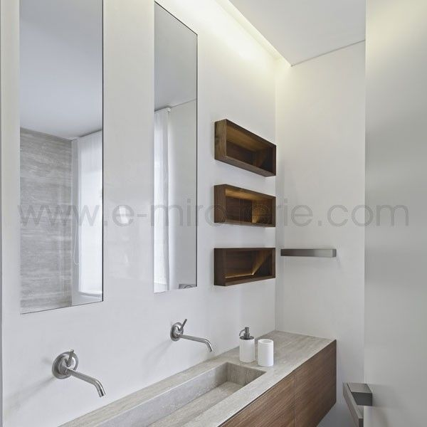 vasque longue etroite | douche | Pinterest | Vasque, Miroir sur ...