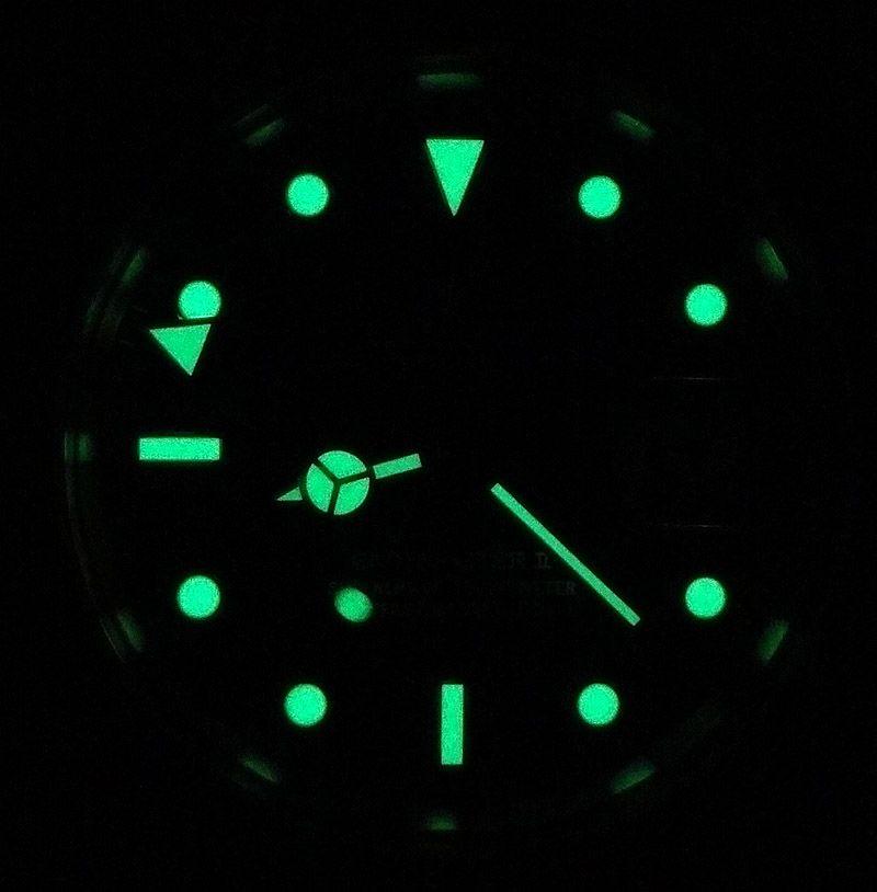 Rolex GMT Master II lume
