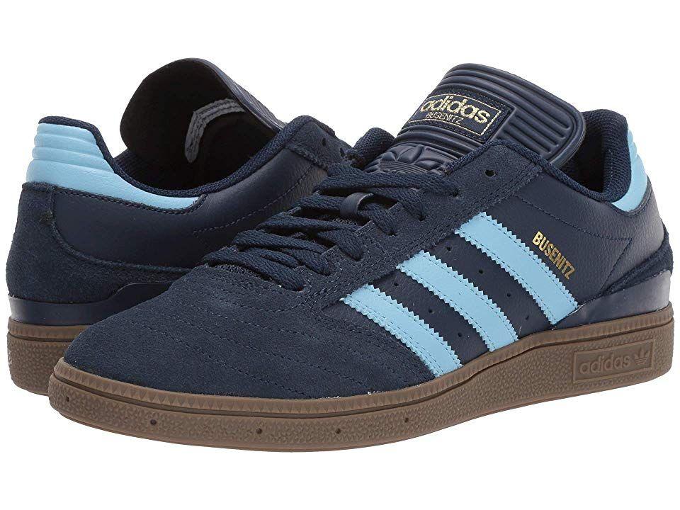 a018fef891 adidas Skateboarding Busenitz Pro (Collegiate Navy Clear Blue Gum 5) Men s  Skate