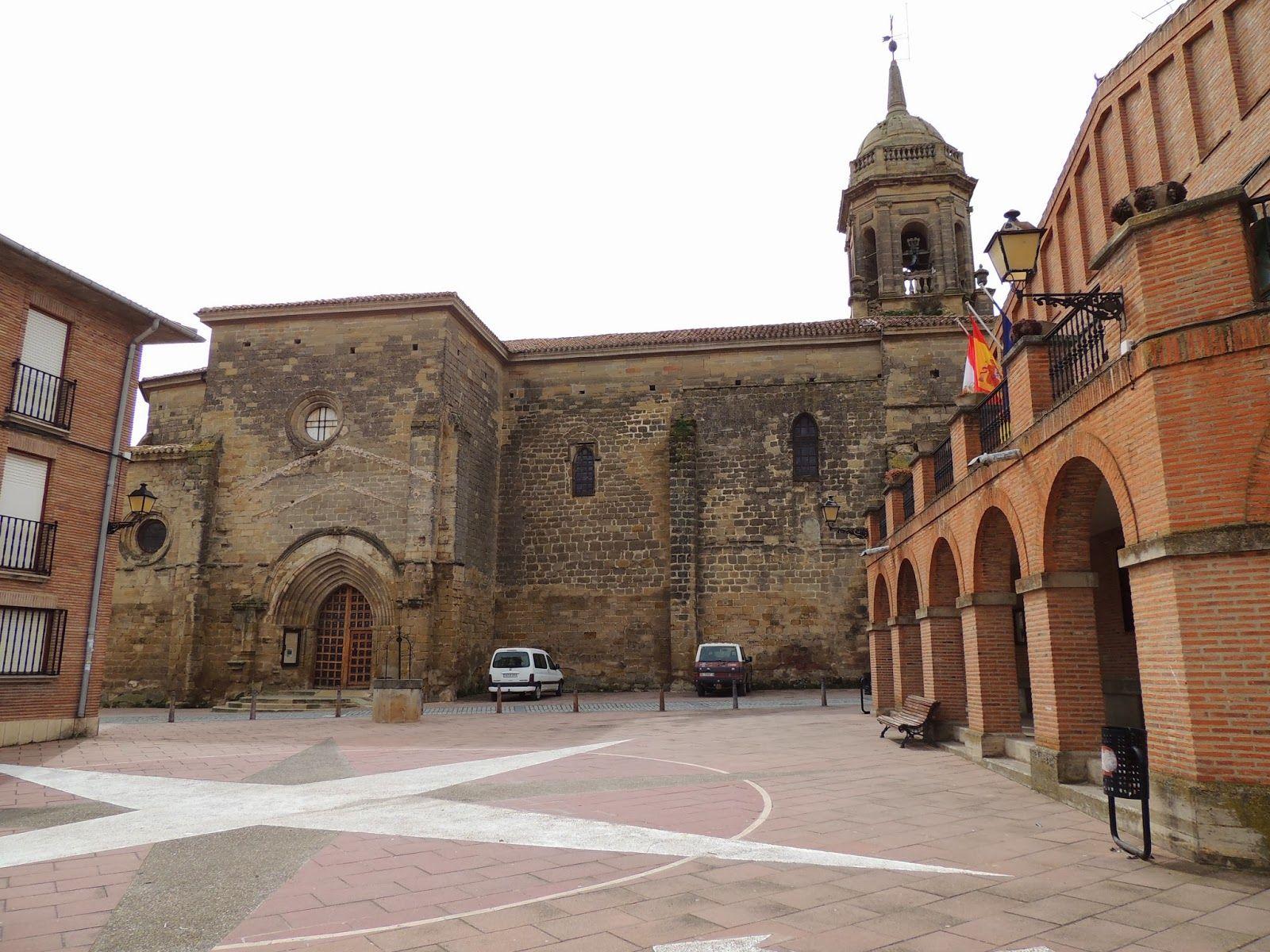 Plaza de Grañón, La Rioja #CaminodeSantiago