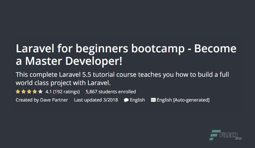 Free Download Udemy - Laravel for beginners bootcamp