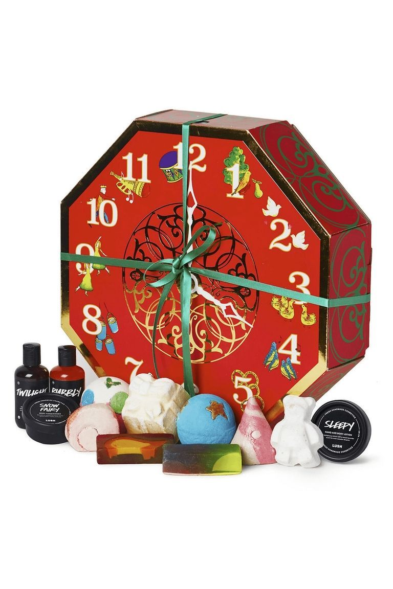 These Luxury Advent Calendars Will Get You Even More Excited For Christmas Christmas Gift Sets 12 Days Of Christmas Lush Bath Bombs