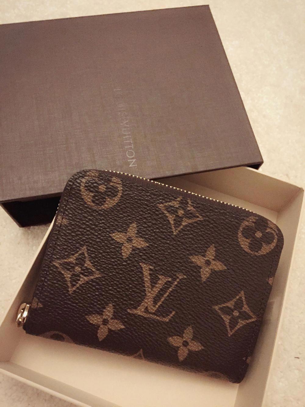 54b7fb10691 Louis Vuitton zippy Coin Purse Monogram print CLASSIC 11 x 8 x 1 cm ( Breite