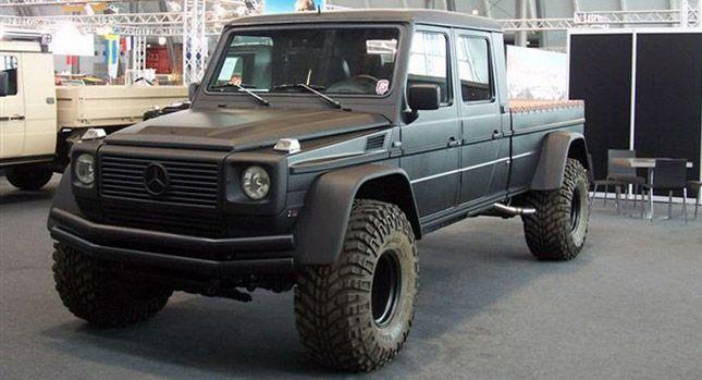 Monster Mercedes Benz G Wagen Pick Truck Conversion