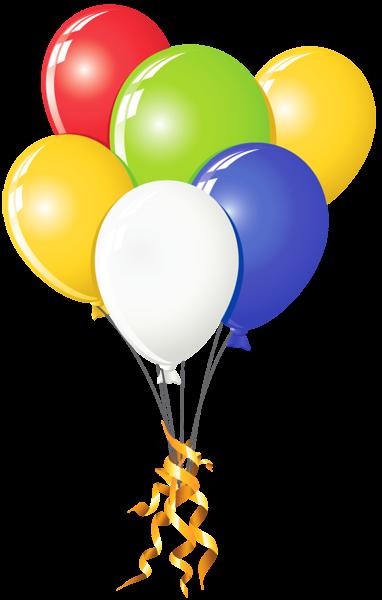 Transparent Balloons Multi Color Clipart Kunterbunt