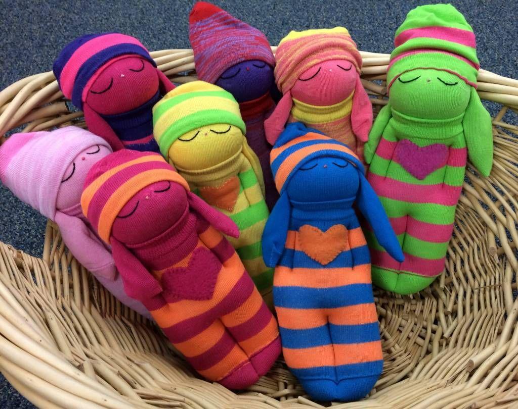 Куклы из носка картинки