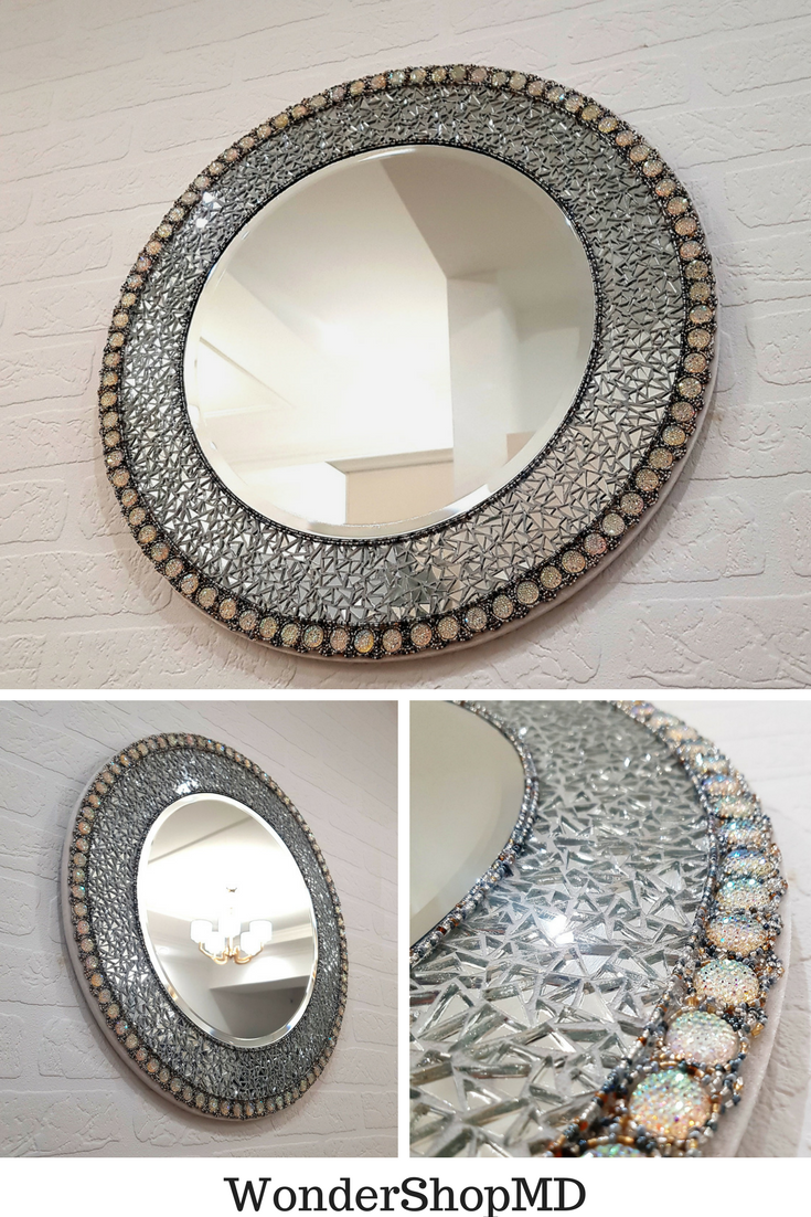 Extraordinary Beauty Wall Mirror Handmade Item Wondershopmd Mirror Wall Decor Mirror Wall Mirror Decor