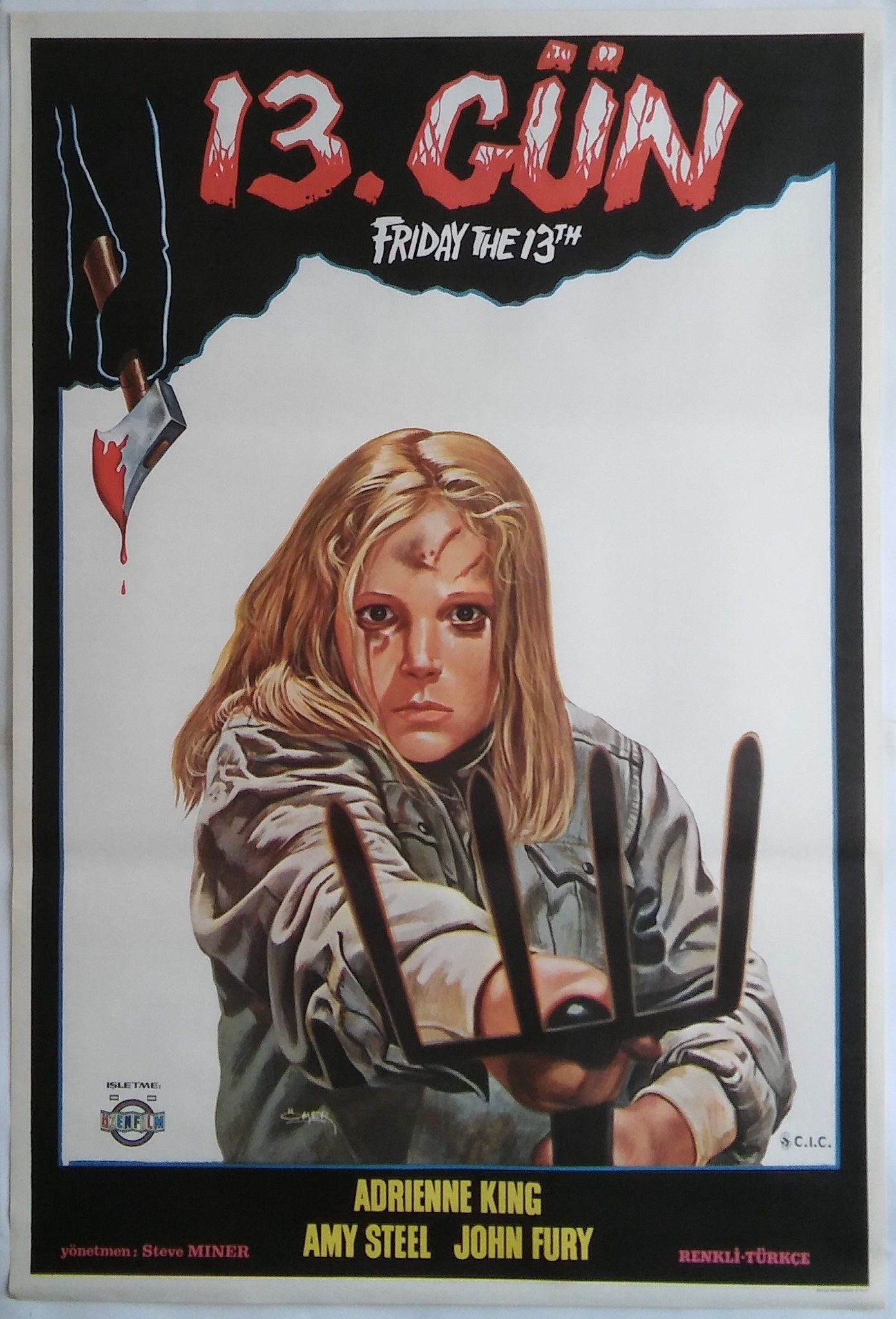 Friday The 13th Horror Movie Posters Movie Posters Design Friday The 13th