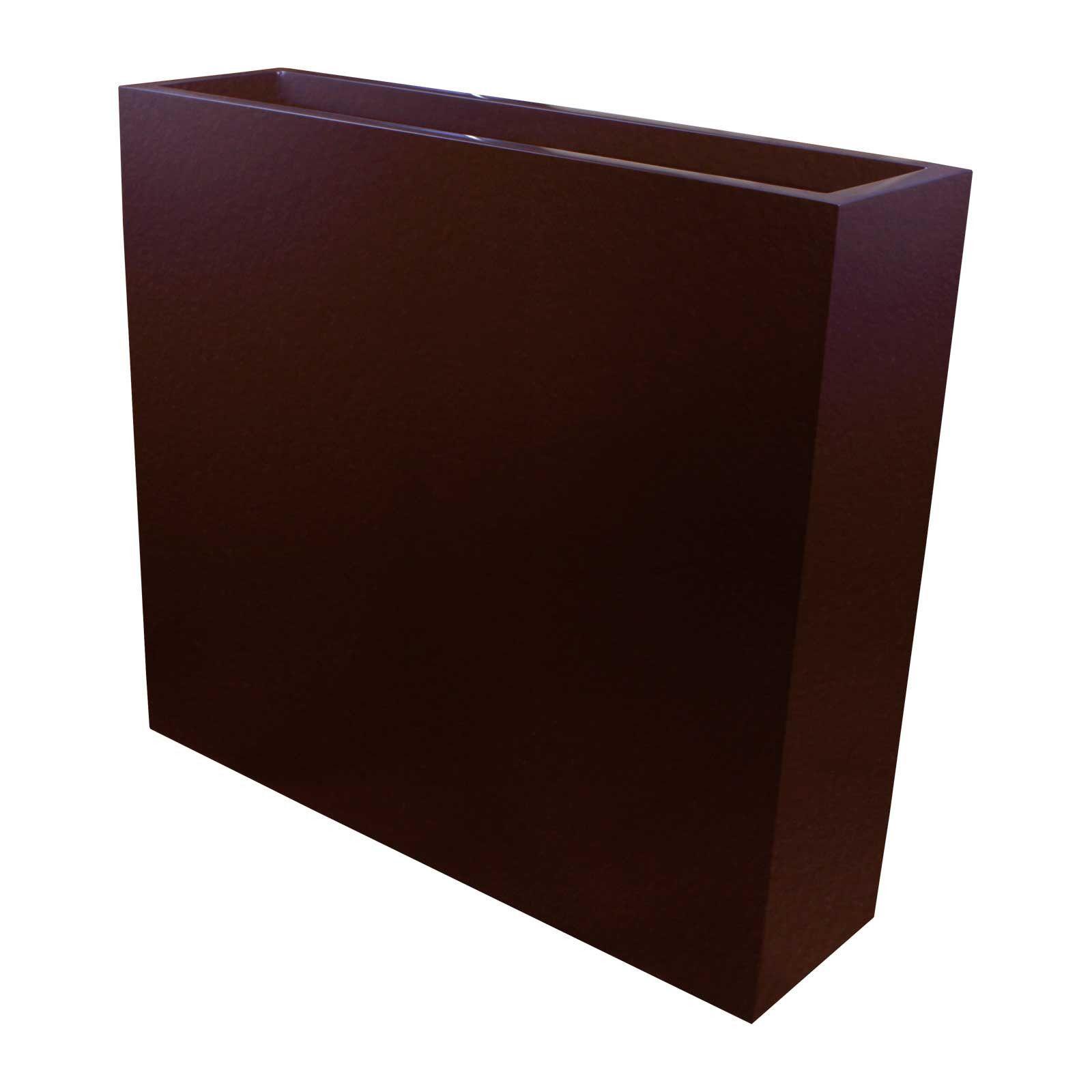 "Tall Narrow Planter Boxes Fiberglass 32"" Tall 24"" 36"" Length"