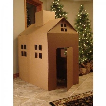 Captivating 26 Coolest Cardboard Houses Ever   PLAYTIVITIES