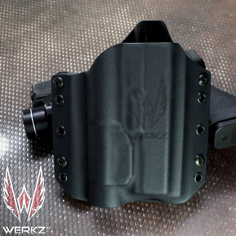 Werkz Origin Holster For The Glock 17 With The X300 Ultra