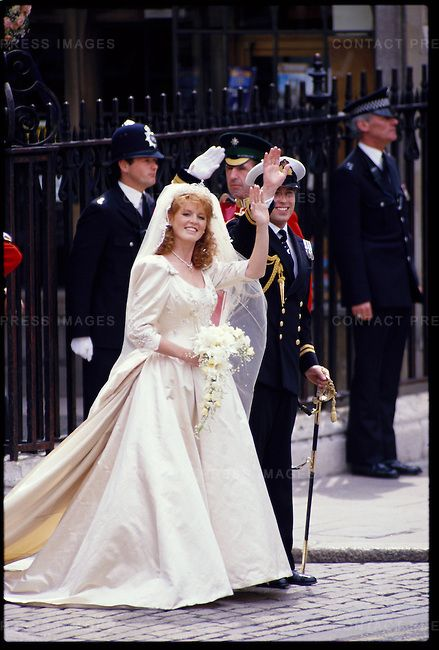 Wedding Of Prince Andrew To Sarah Ferguson Contact Press Images