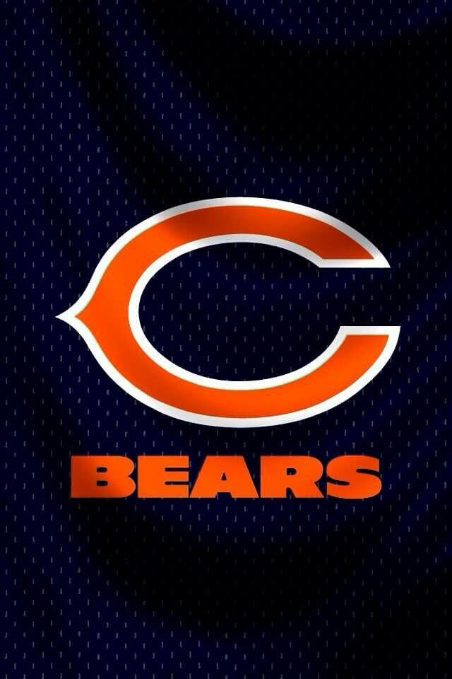 Chicago Bears wallpaper iPhone Live Wallpaper Iphone, Bear Wallpaper, Phone Wallpapers, Chicago Bears