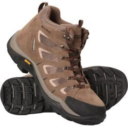 Photo of Field Wasserdichte Vibram Herren-Stiefel – Braun Mountain WarehouseMountain Warehouse