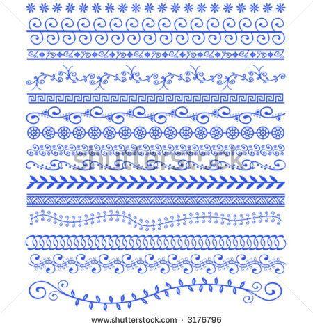 Vector de stock (libre de regalías) sobre Vector Henna Patterns3176796