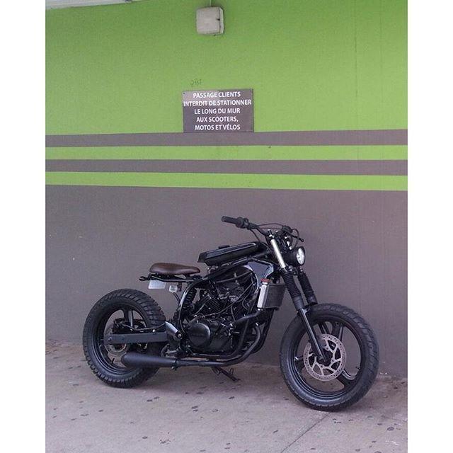 Honda 125 varadero by KOPPERFIELD BIKE TAHITI #caferacerstyle…