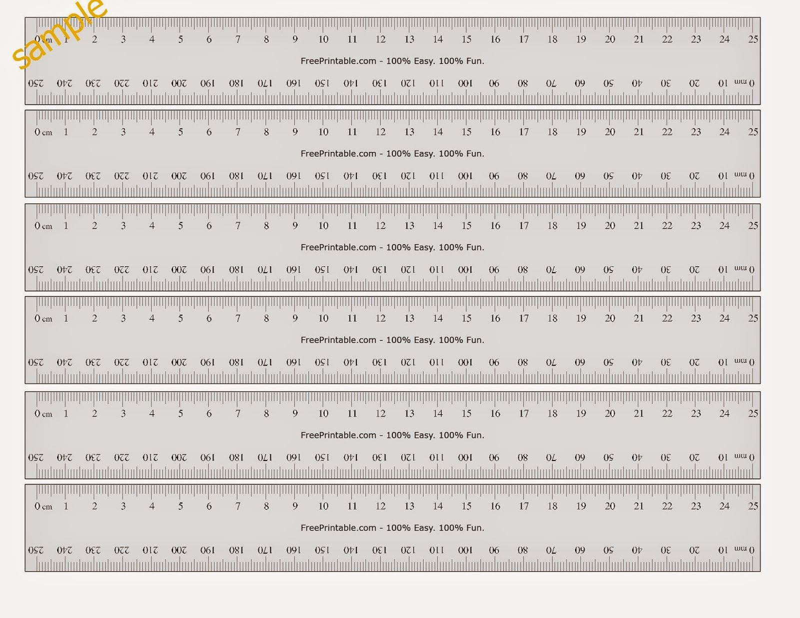 Printable Blank Ruler Worksheets Learning How To Read