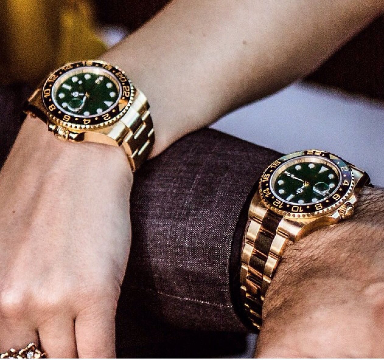 Rolex Gmt Gold 18k Watches In 2018 Pinterest Bulova 90271 Jam Tangan Pria Silver