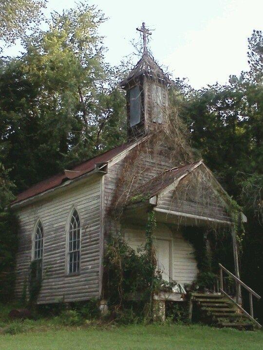 abandoned church in peak south carolina by kristen take me