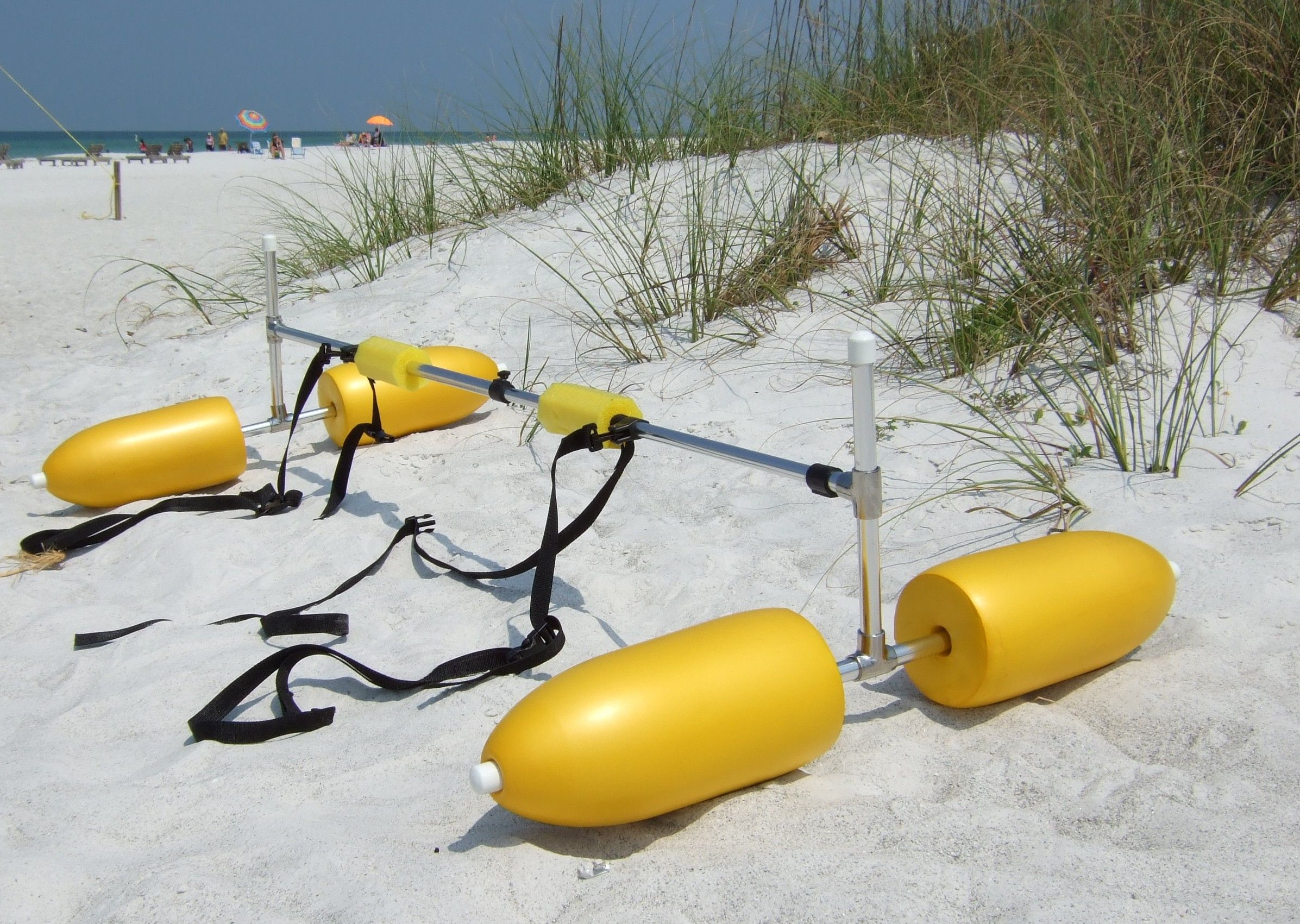 Diy canoe stabilizer super kayak canoe stabilizer for How to fish from a kayak